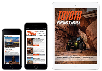 Subscription to the best Toyota magazine!